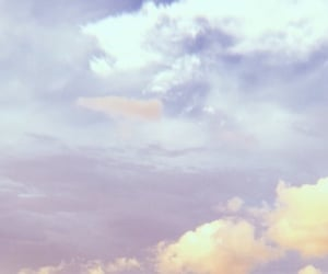 clouds, Dream, and purple sky image