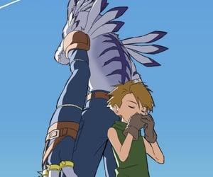 yamato, digimon, and digimon adventure image