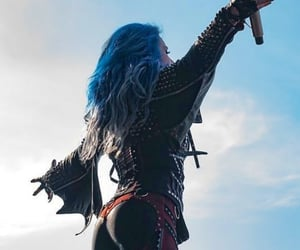 arch enemy, concert, and new image