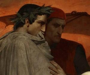 art, book, and Dante image