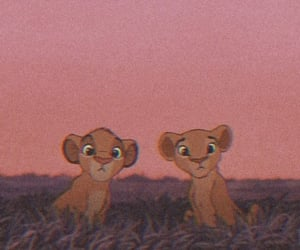 wallpaper, lion king, and simba image