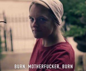 burn, elisabeth moss, and quotes image