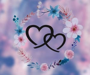wallpaper, heart, and love image