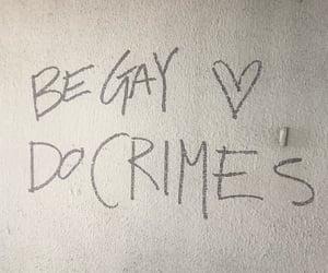 crime, happy, and pride image