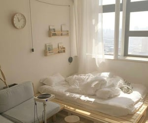 bedroom, interior, and aesthetic image