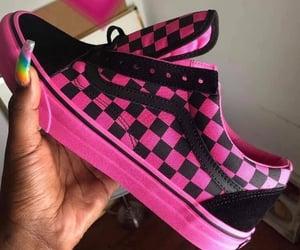 pink, vans, and sneakers image