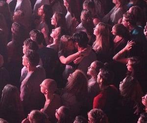 concert, couple, and kiss image