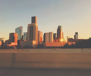 aesthetic, downtown, and sunset image