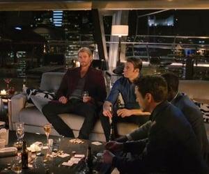 Avengers, captain america, and hawkeye image