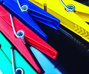 clips, closeup, and clothespins image