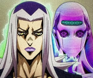 anime, moody blues, and abbacchio image