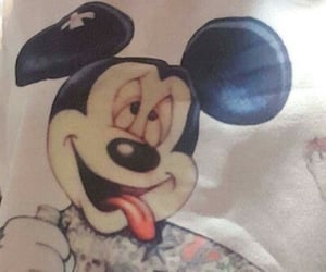 micky, amén, and mouse image