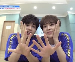 produce x 101, lee jinwoo, and producex101 image