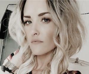 blonde hair, female, and feminist image