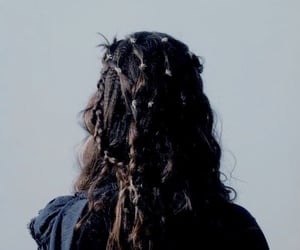 hair, aesthetic, and braid image