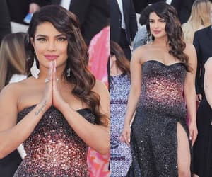 beautiful, cannes, and dress image
