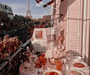 aesthetic, theme, and paris image