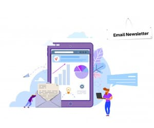 email newsletter service and email newsletter image