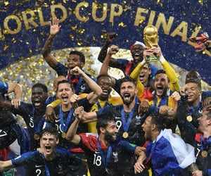 world cup, france, and soccer image