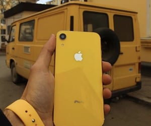 iphone and yellow image