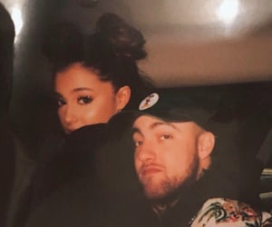 ariana grande and mac miller image