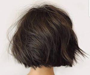 faceless, portrait, and short hair image