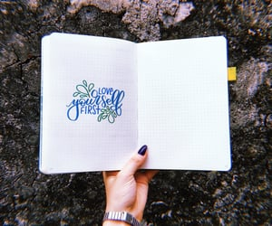 hand lettering, lettering, and bujo inspire image