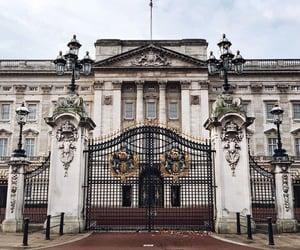 london, england, and Buckingham palace image