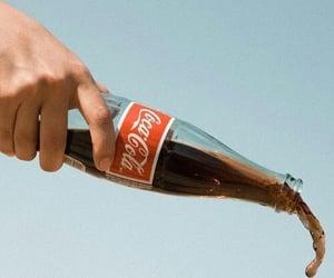 coca cola, vintage, and drink image