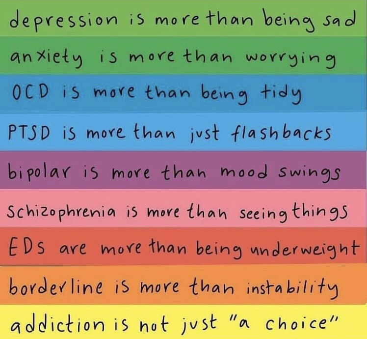 depression, disorders, and mental health image