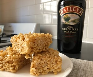 Baileys, food, and pastry image