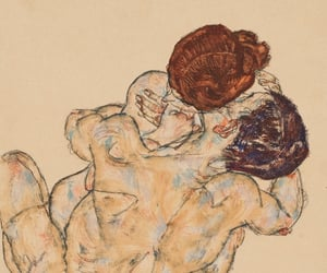 art, drawing, and egon schiele image