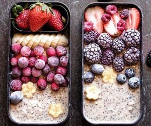 banana, blueberry, and chia seeds image