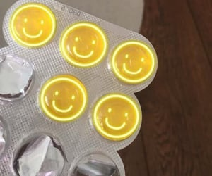 smile, yellow, and aesthetic image