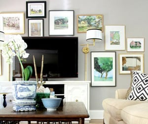 artwork, wall art, and television image