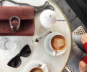 breakfast, gucci, and sunglasses image
