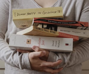 book, books, and hands image