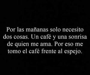 amor, cafe, and espejo image
