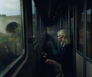 train, dark, and aesthetic image