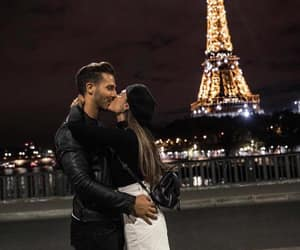 couple, beautiful, and paris image