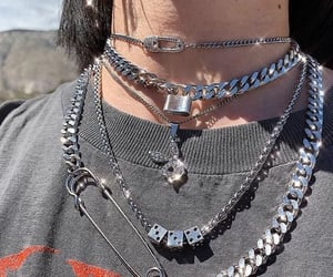 aesthetic, grunge, and jewelry image