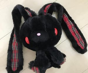 black, bunny, and dark image