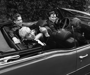 band, car, and singer image