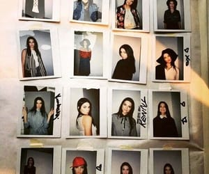 mannequins, polaroid, and kendall jenner image
