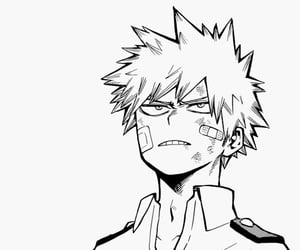 anime, manga cap, and bakugou image