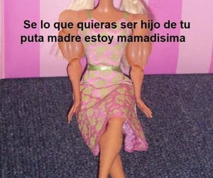 barbie, frases, and gracioso image