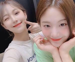 gyuri, jiheon pfp, and fromis image
