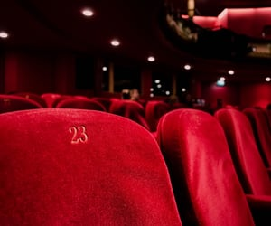 chairs, cinema, and film image