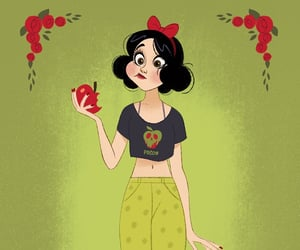 apple, ariel, and art image