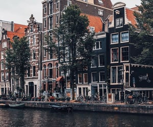 amsterdam, boats, and wanderlust image